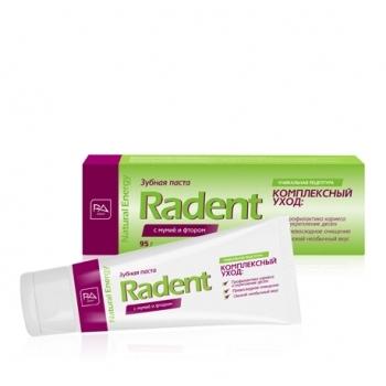 Зубная паста RADENT с мумиё и фтором
